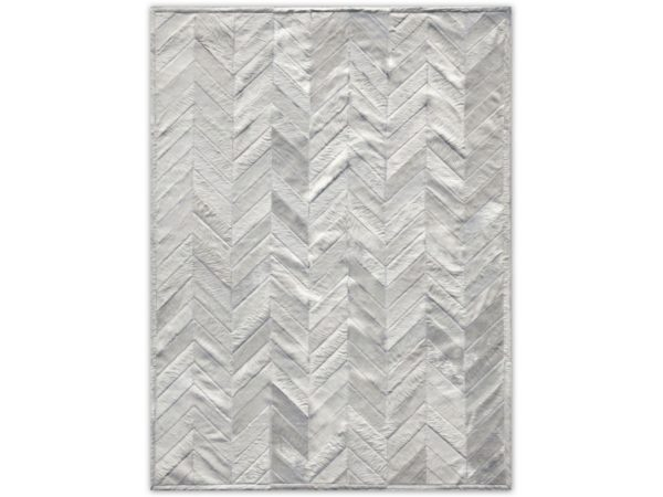 Tapis-Salon-Blanc-Chevron