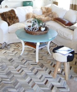 Tapis-salon-gris-chevrons