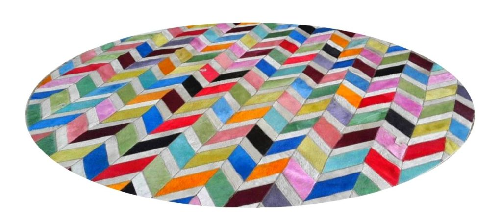tapis-rond-colore